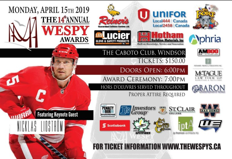 WESPY Awards   Annual Windsor Essex County Sports Persons of the Year Awards