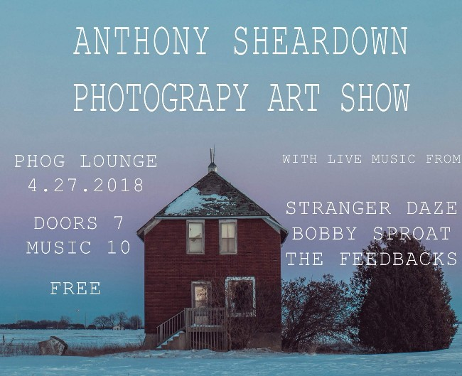 Anthony Sheardown Photography Art Show With Huttch