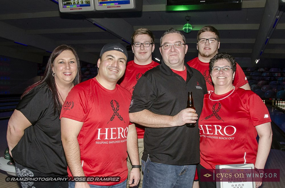 Team of bowlers from Caesars Windsor