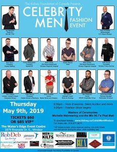Celebrity Men Fashion Event Poster