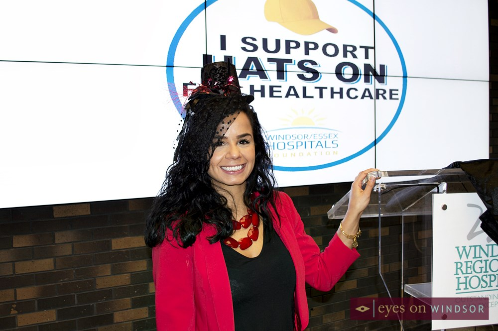 Nour Hachem Hats On For Health Care Contest