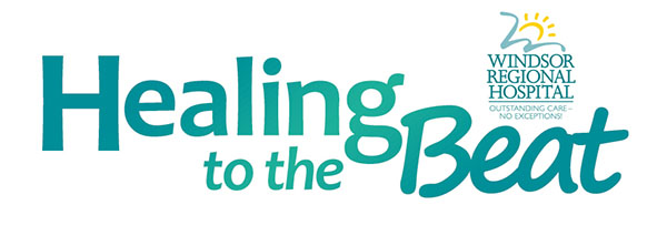 Healing To The Beat Banner (Windsor Regional Hospital Foundation)