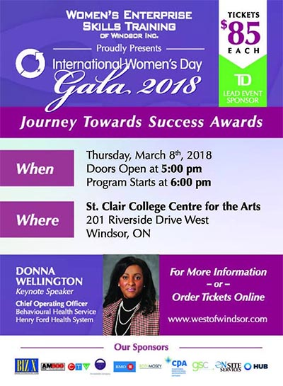 International Women's Day Gala Poster