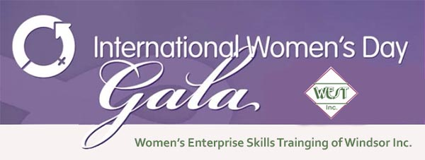 International Women's Day Gala WEST Windsor Banner