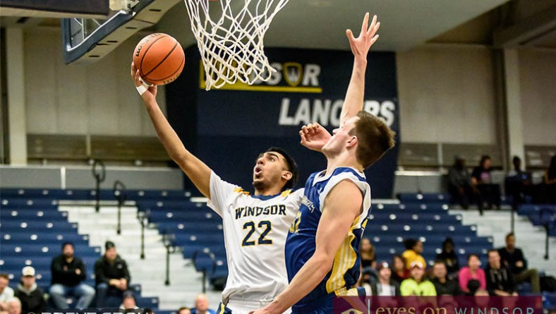 In Photos: Lancers Men's Basketball Advance To OUA Quarter Finals 2016