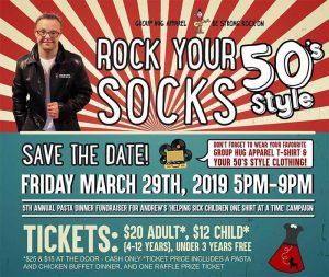 Rock Your Socks Poster