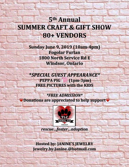Summer Gift & Craft Show at the Serbian Centre