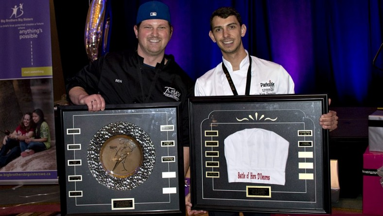Battle of the Hors D'oeuvres 2016 Critics Award Winners Parkside Grille and Twiggs Bar & Grill