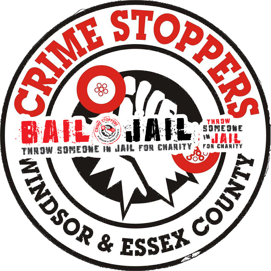 Crime Stoppers Windsor & Essex County Bail or Jail Logo