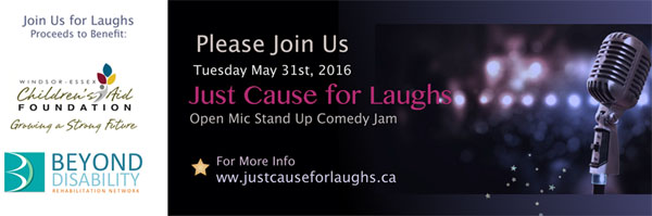 Just Cause For Laughs Windsor