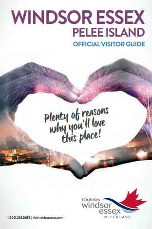 Tourism Windsor Essex Pelee Island Official 2016/2017 Visitor Guide