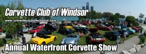 Corvette Club of Windsor Annual Waterfront Corvette Show