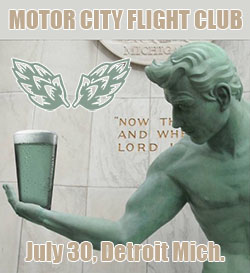 Motor City Flight Club Craft Beer Crawl