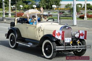 Ouellette Car Cruise in Windsor, Ontario.