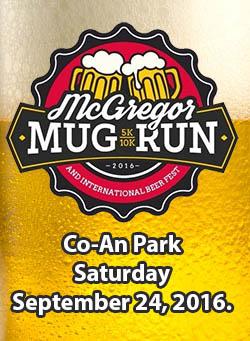 McGregor Mug Run & International Beer Festival