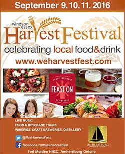 Windsor Essex WE Harvest Festival in Amherstburg at Fort Malden