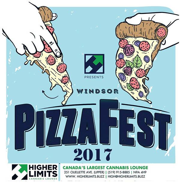 Windsor Essex Pizza Fest Poster