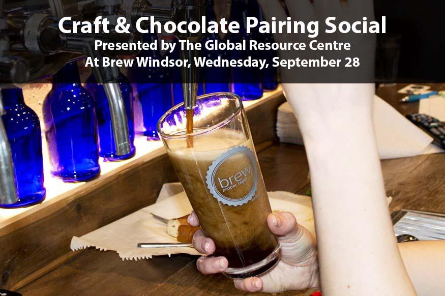 Craft Beer & Chocolate Pairing Social at Brew Windsor