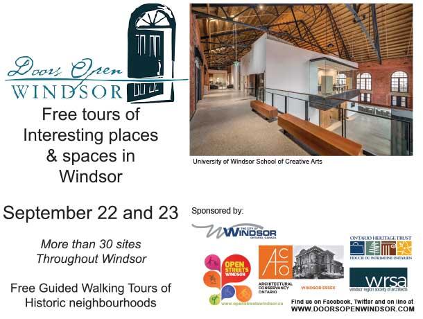 Doors Open Windsor Poster