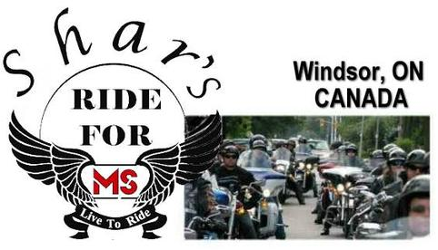 Shar's Ride For MS Windsor
