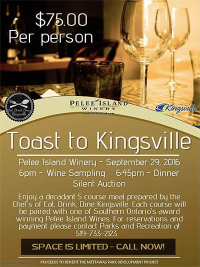 Toast To Kingsville Poster