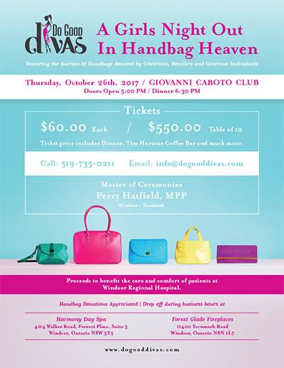 Do Good Divas, A Night Out In Handbag Heaven 2017 Poster