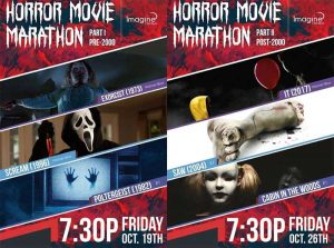 Lakeshore Cinemas Annual Horror Movie Marathon Poster