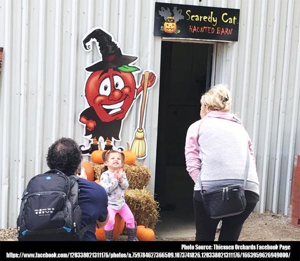 Thiessen Scaredy Cat Haunted Barn