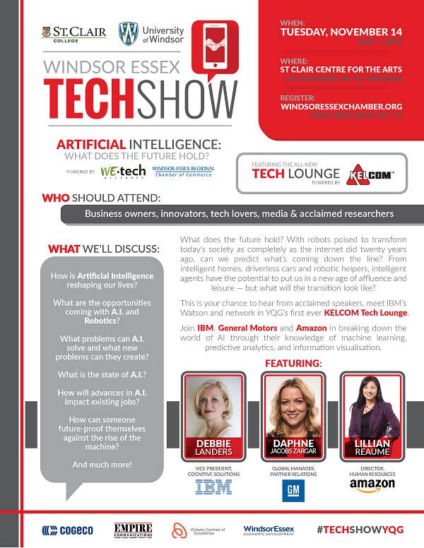 Windsor Essex Tech Show Poster