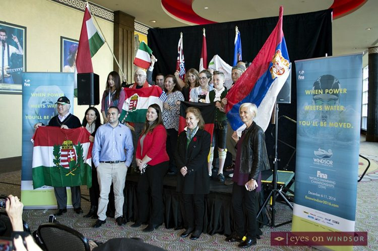 Windsor Will Revolutionize FINA World Swimming Championships Opening Ceremony