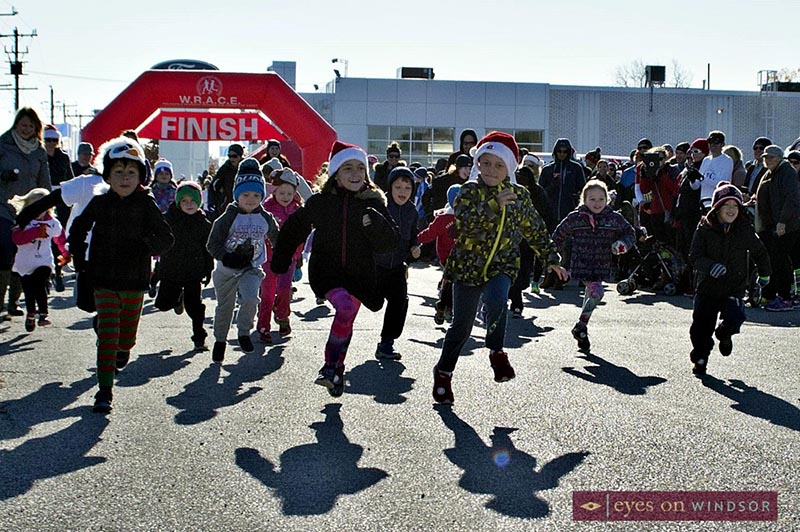 Jingle Bell Run, Walk & Wheel Kids Elf Run
