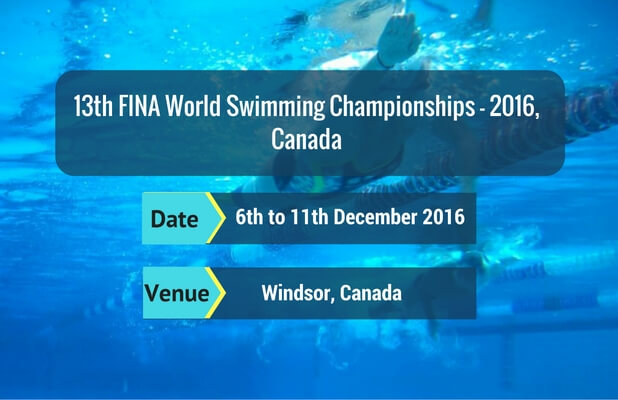 13th FINA World Swimming Championships