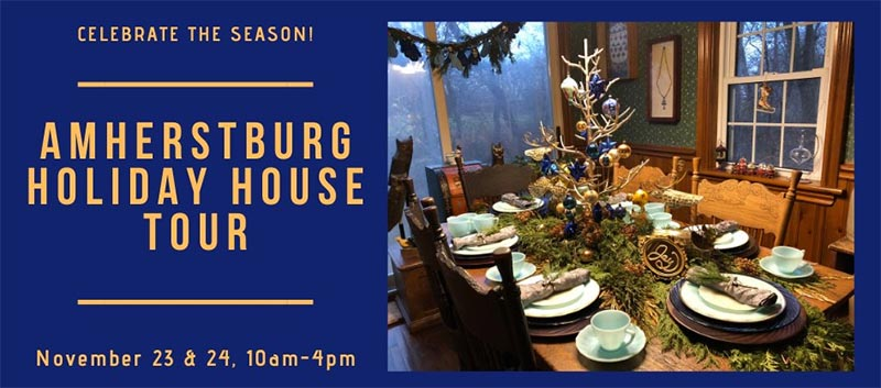 Amherstburg Holiday House Tour Poster