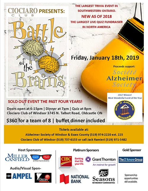 Battle of the Brains Poster