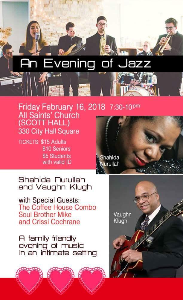 An Evening of Jazz at All Saints Church