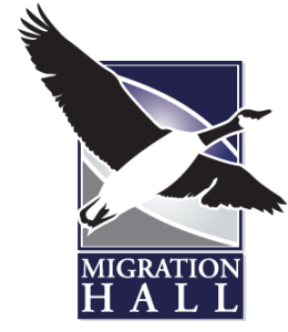 Migration Hall Logo