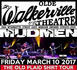 Mudmen: Old Plaid Shirt Tour at the Olde Walkerville Theatre