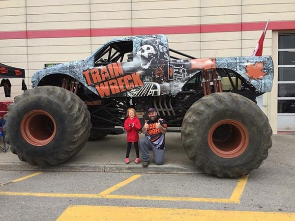 Train Wreck Monster Truck
