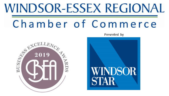 Windsor Essex Regional Chamber of Commerce Business Excellence Awards Logo