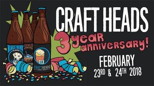 Craft Heads Brewing Company Anniversary Party