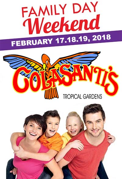 Family Day Weekend at Colasanti's Tropical Gardens