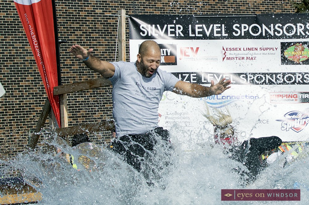 The Boom Boom Room makes a splash at the 2017 Polar Plunge.