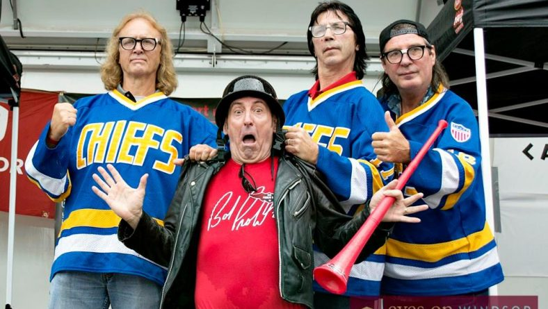 Probert Ride Brought Hanson Brothers To Town & Now Slap Shot Turns 40 Years Old