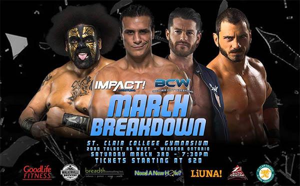 Border City Wrestling March Breakdown