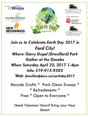 Ford City Renewal Earth Day Celebration Poster