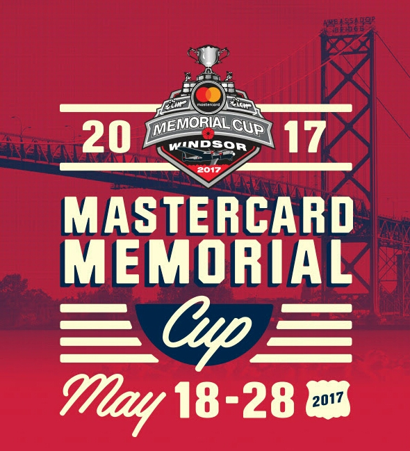 MasterCard Memorial Cup 2017 Windsor, Ontario