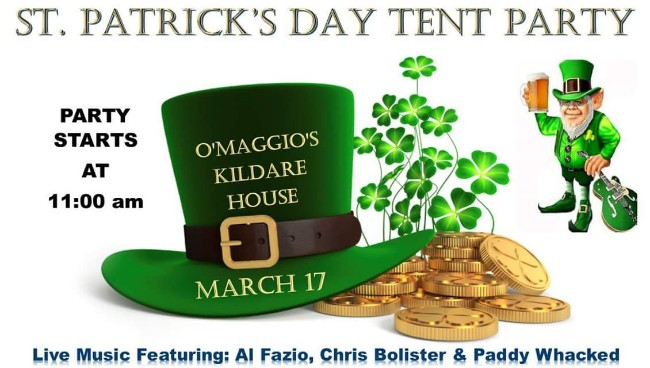 O'Maggio's Kildare House St. Patrick's Day Tent Party