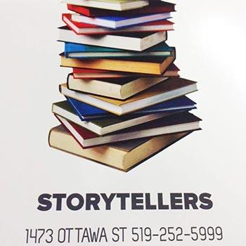 Storytellers Book Store Logo