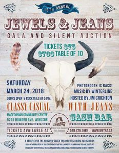 WETRA Jewels & Jeans Gala Poster