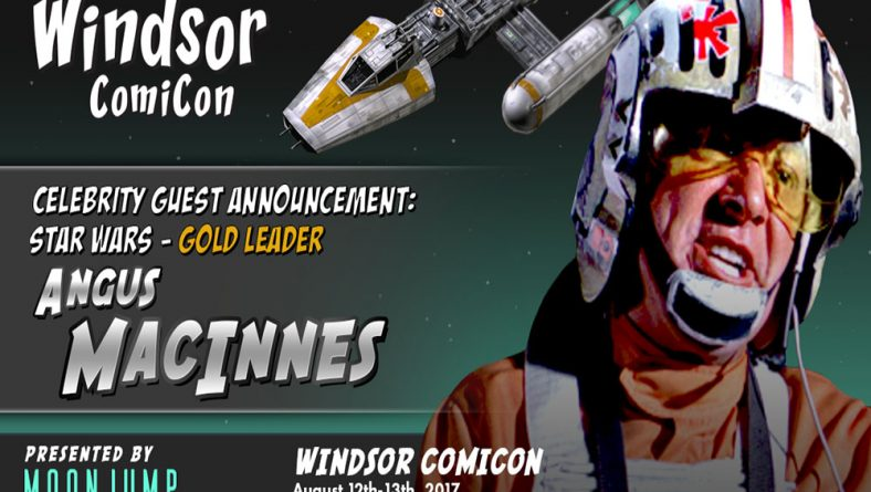 Windsor Native Angus MacInnes Returns | Leader of Star Wars Death Star Attack